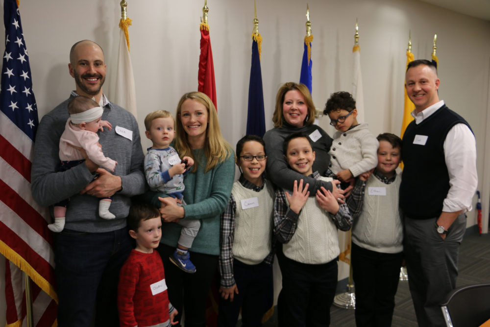The Sellier Family Foundation Gives Two Military Spouses the Surprise of a Lifetime