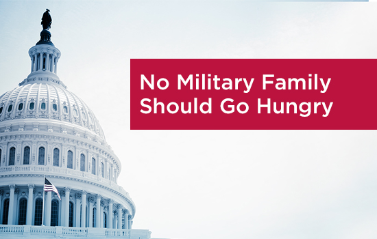 Congress Excludes Aid to Address Military Hunger in NDAA