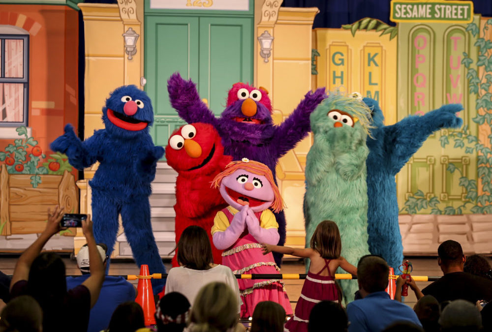 Celebrate the Month of the Military Child with Sesame Street