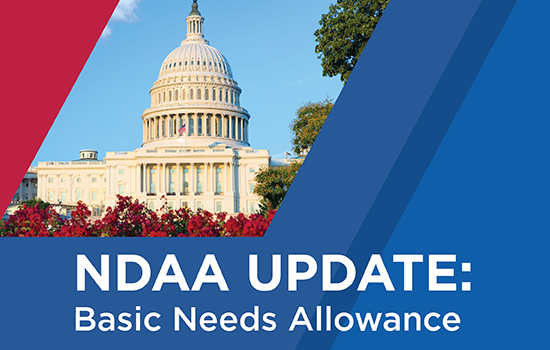 Congress Addresses Military Food Insecurity, Basic Needs Allowance in NDAA