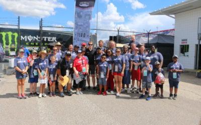 NASCAR Champion Brad Keselowski Races to Support Military Families