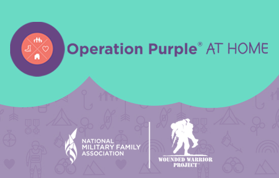 NMFA and WWP Bring Camp to Military Families at Home