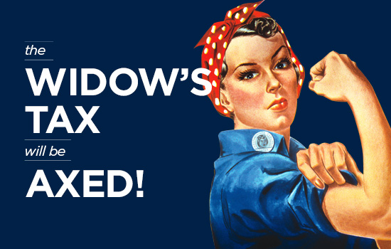 The Widow's Tax Will Be Eliminated in FY20 National Defense Authorization Act