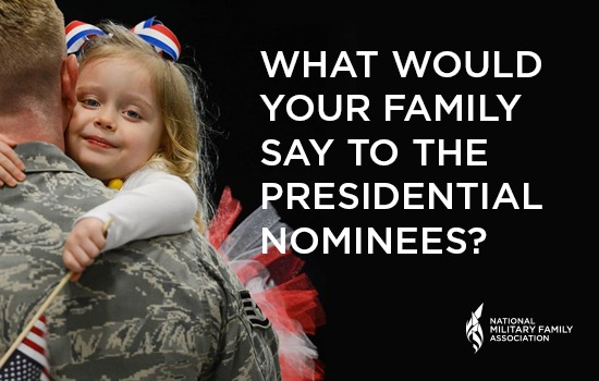 Trump and Clinton Campaigns Visit NMFA Office to Discuss Military Families