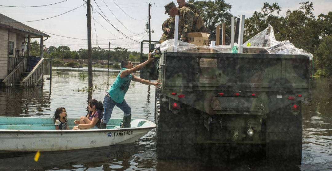 From Hurricane Harvey to Hurricane Irma: America's Heroes Answer the Call