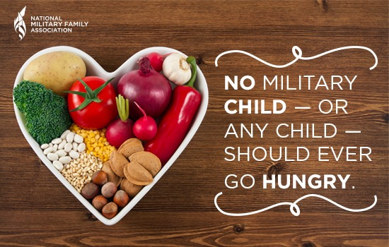 No Child Should Ever Go Hungry—Nutrition Assistance Programs For Military Families