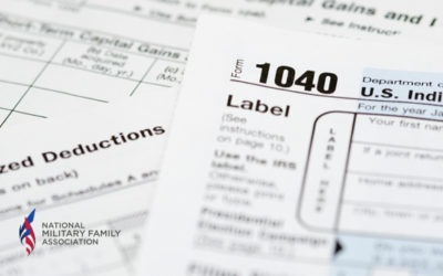 Tax Season Tips for Military Families