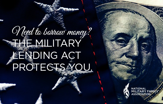 Borrowing Money? The Military Lending Act Protects You.