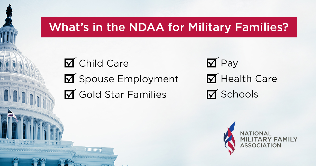 From Pay to Health Care, Here's What's In the New NDAA For ...