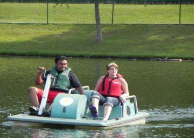 Healing Adventure: Fun paddle boat ride