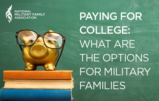 Paying for College: What are the Options for Military Families?