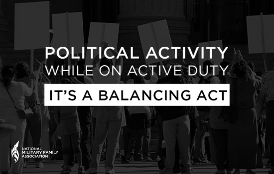 Political Activity and Military Families – It's a Balancing Act