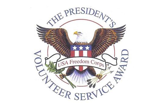 NMFA honors 32 Volunteers as recipients of the President's Volunteer Service Award