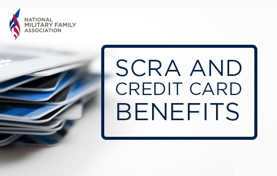 SCRA and Credit Card Benefits