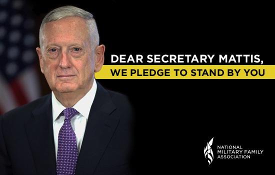 Dear Secretary Mattis,