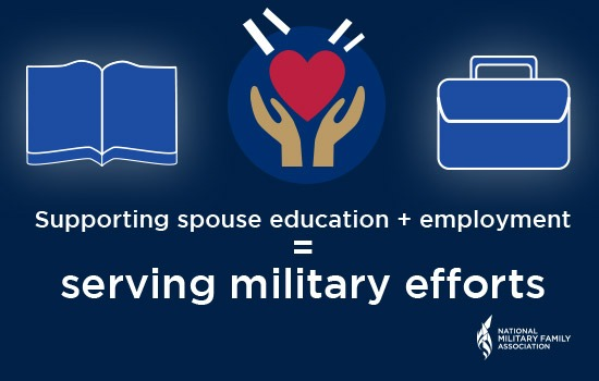 Spouse Education + Professional Support=Strong Military Families