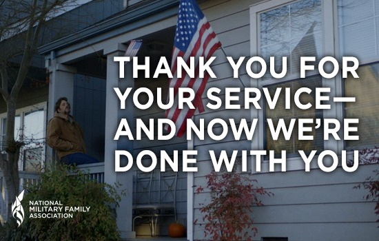 Thank You for Your Service—and Now We're Done with You