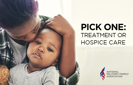 Fix the Gap: Terminally Ill Military Kids Must Forego Treatment to Receive Hospice Care