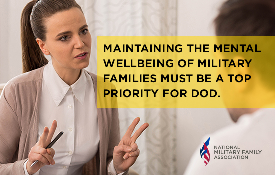 NMFA Continues to Monitor Mental Health Networks During TRICARE Contract Transition